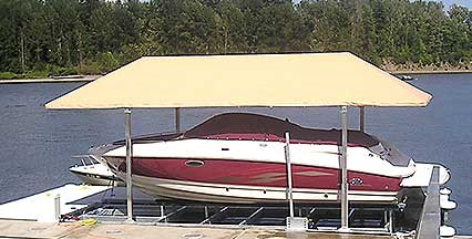 Replacement Boatlift Canopies